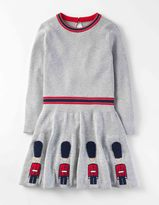 Boden Knitted Royal Guards Dress