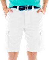 U.S. Polo Assn. USPA Belted Twill Cargo Shorts