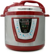 Bed Bath & Beyond Pressure Pro 6-Quart Electric Pressure Cooker in Red
