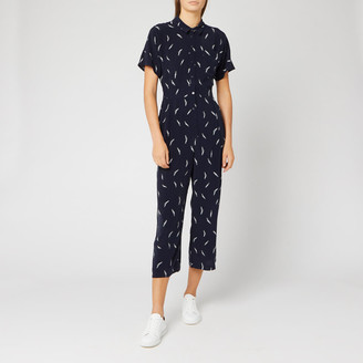 Whistles Women's Brushstroke Print Jumpsuit