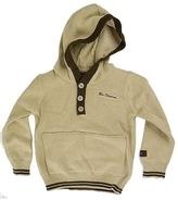Ben Sherman Kid's Cream Hooded Lounge Sweater