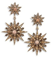 Sole Society Women's Starburst Drop Earrings