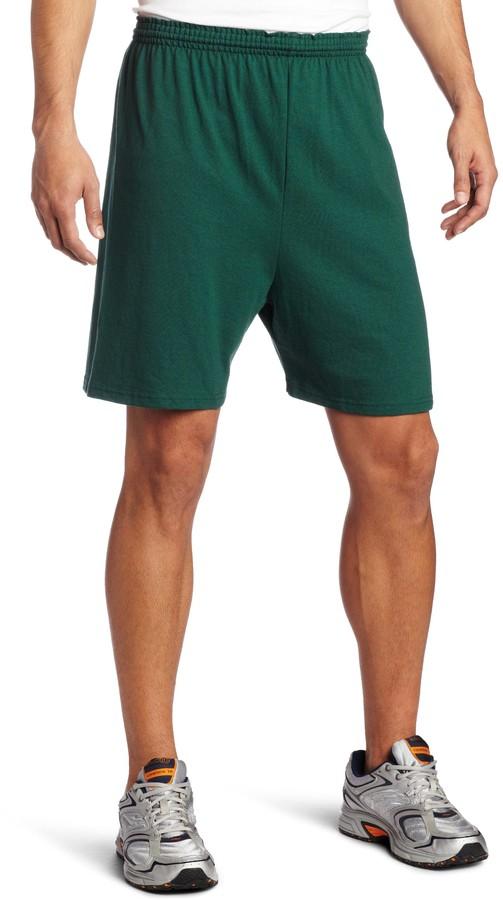 MJ Soffe Soffe Men's Heavy Weight Jersey Short Dark Green Small