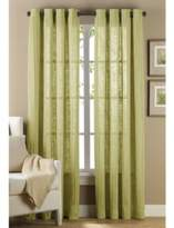 B. Smith Origami Grommet 95-Inch Window Curtain Panel in Green