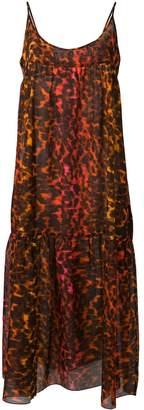 Stella McCartney leopard print maxi dress
