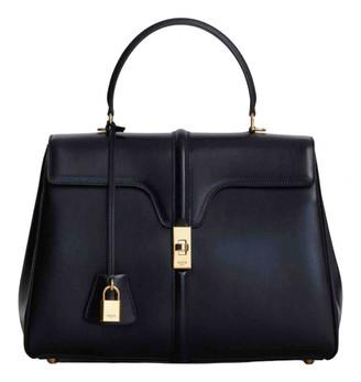 Celine Sac 16 Black Leather Handbags
