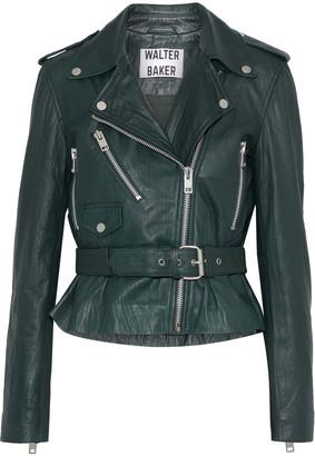 W118 By Walter Baker Celina Leather Biker Jacket