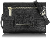 Francesco Biasia Nora Hammered Leather Clutch w/Shoulder Strap
