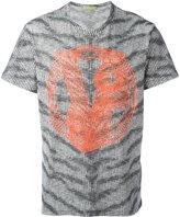 Versace printed zebra T-shirt