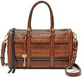 Fossil Kendall Perforated Satchel