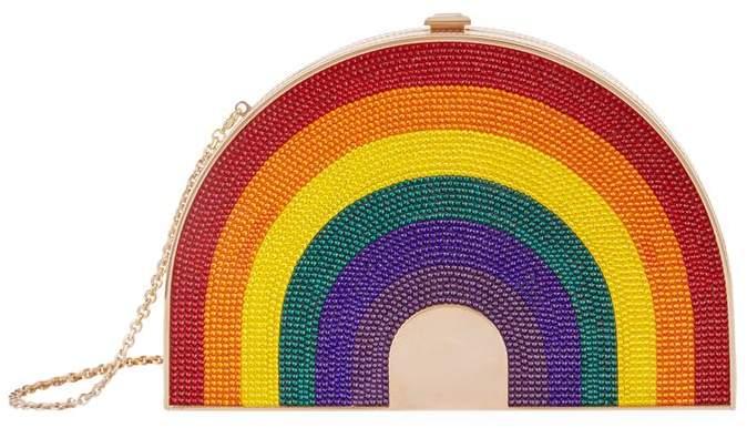 Judith Leiber Rainbow Shimmer Clutch