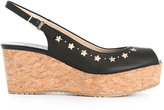 Jimmy Choo Praise 70 sandals - women - Cork/Leather/Nappa Leather/rubber - 36