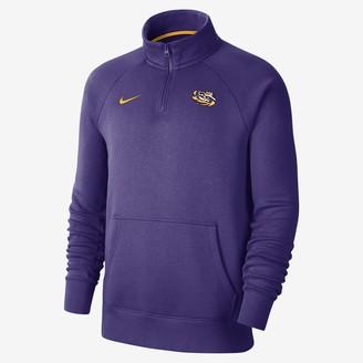 Nike Men's 1/4-Zip Fleece Top College (LSU)