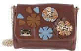 Dolce & Gabbana Crocodile-Accented Shoulder Bag