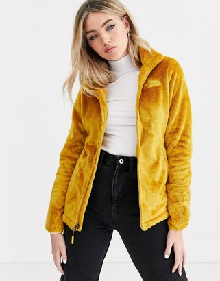 The North Face Osito jacket in yellow