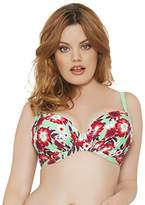 Curvy Kate Women's Aloha Padded Plunge Underwired Top,34D