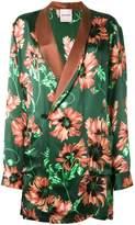Palm Angels floral print blazer