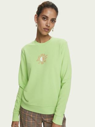 Scotch & Soda Relaxed fit artwork sweatshirt   Women