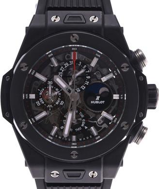Hublot Black Ceramic Big Bang Unico Perpetual 406.Ci.0170.Rx Automatic Men's Wristwatch 45 MM