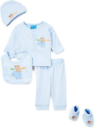 Sweet & Soft Boys' Casual Pants Light - Light Blue 'Best Buddies' Cardigan Set - Infant