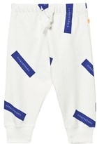 Tinycottons Off White/Blue Tiny Logo Sweatpants