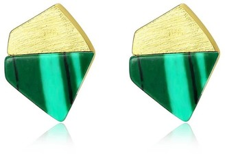 Daixa Somed Orquideas Gold Earrings