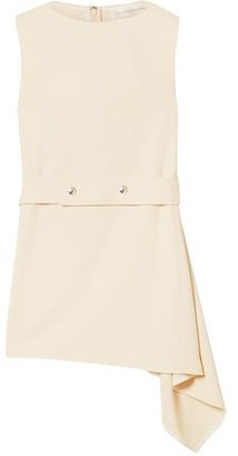 Victoria Beckham Belted Asymmetric Cady Top