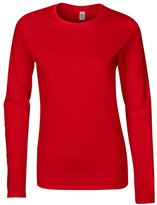 Gildan Softstyle womens long sleeve t-shirt S