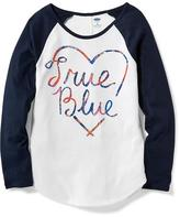 Old Navy Relaxed Baseball Tunic for Girls