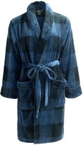 Woolrich Fleece Plaid Robe - Shawl Collar, Long Sleeve (For Women)