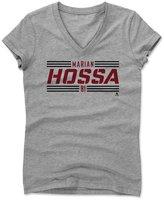 500 Level Marian Hossa Striped Font R Chicago Women's V-Neck XXL