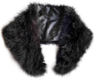 Non Signã© / Unsigned Black Ostrich Coats