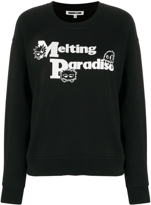 McQ long sleeve Melting Paradise jumper