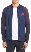 Nike Technical Woven and Knit Zip Track Jacket