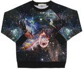 Stella McCartney Universe Print Organic Cotton Sweatshirt