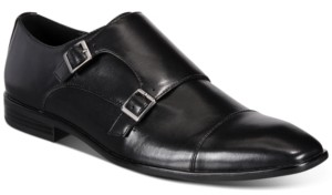 Alfani Men's Ian Double Monk Strap Loafers, Created for Macy's Men's Shoes