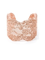 Aurelie Bidermann Rose gold-plated lace cuff
