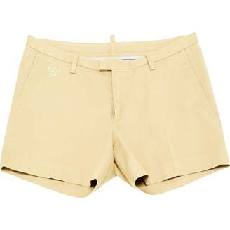DSQUARED2 Beige Cotton - elasthane Shorts
