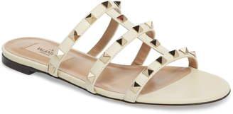 Valentino Garavani Rockstud Slide Sandal