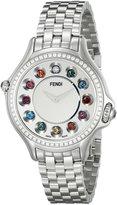 Fendi Women's F107024000B0T05 Crazy Carats Analog Display Swiss Quartz Watch