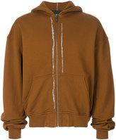 Haider Ackermann zip hoodie - men - Cotton - S