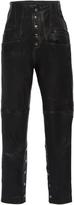 Marissa Webb Makayla High Waist Leather Pants