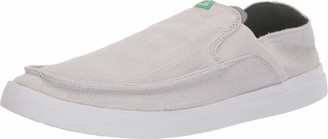 Sanuk Pick Pocket Slip-On Linen Grey 14
