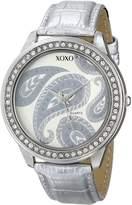 XOXO Women's Dial Crocodile Genuine Leather Watch XO3184