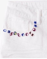 Forever 21 girls Bejeweled Denim Shorts (Kids)