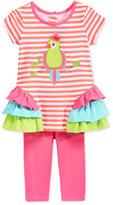 Nannette Toddler Girls' 2-Pc. Bird Tunic & Leggings Set