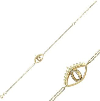 Rangda Barong Irmas Eye Bracelet With Diamond