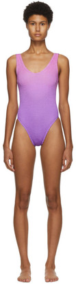 BOUND by Bond-Eye Pink and Purple The Mara One-Piece Swimsuit