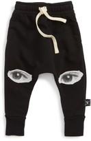 Nununu Infant Boy's Eye Patch Jogger Sweatpants