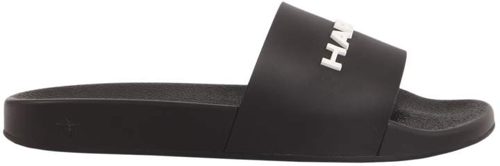 Christian Dior Slide Sandal With Logo Lettering